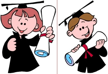 Niño diploma FIN DE CURSO